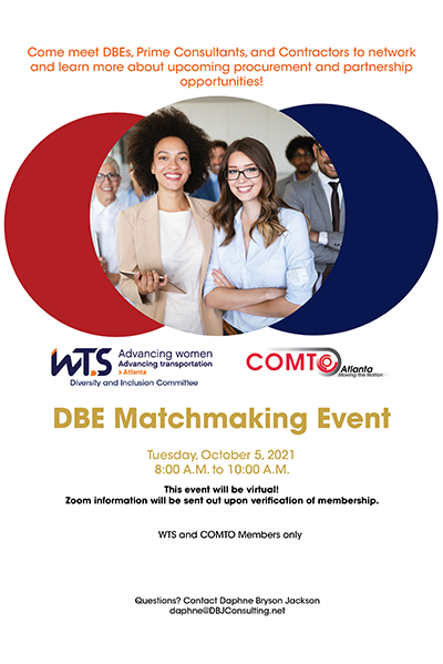WTS COMTO Matchmaking Event